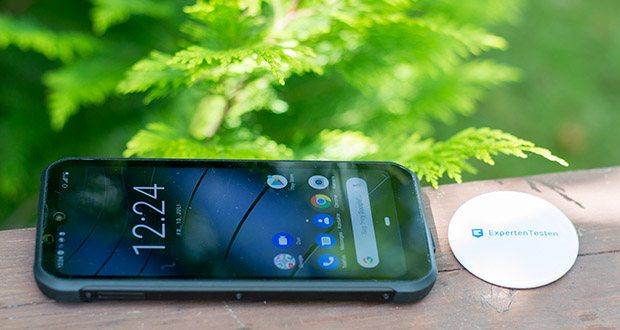 Gigaset Outdoor Smartphone GX290 im Test - dank IP68 Standard ist das Telefon wasserdicht, staubdicht und besonders stoßfest