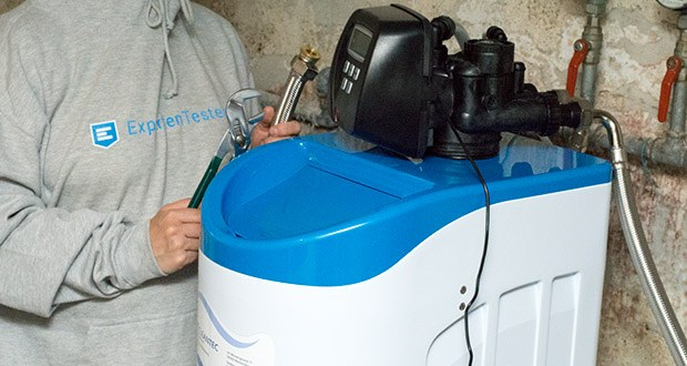 LFS CLEANTEC Wasserenthärter IWKC 1000 im Test - Salzverbrauch je Regeneration: 1,6 kg; Wasserverbrauch je Regeneration: 60 Liter