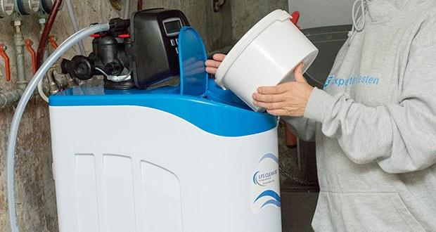 LFS CLEANTEC Wasserenthärter IWKC 1000 im Test - Maximaler Salzvorrat: 40 kg; Harzinhalt: 10 Liter