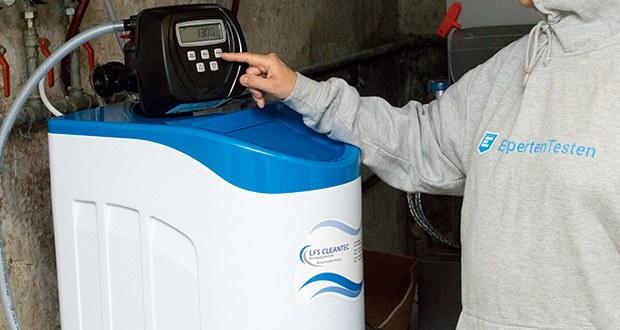 LFS CLEANTEC Wasserenthärter IWKC 1000 im Test - Verwendungsbereich: 3-4 Personen