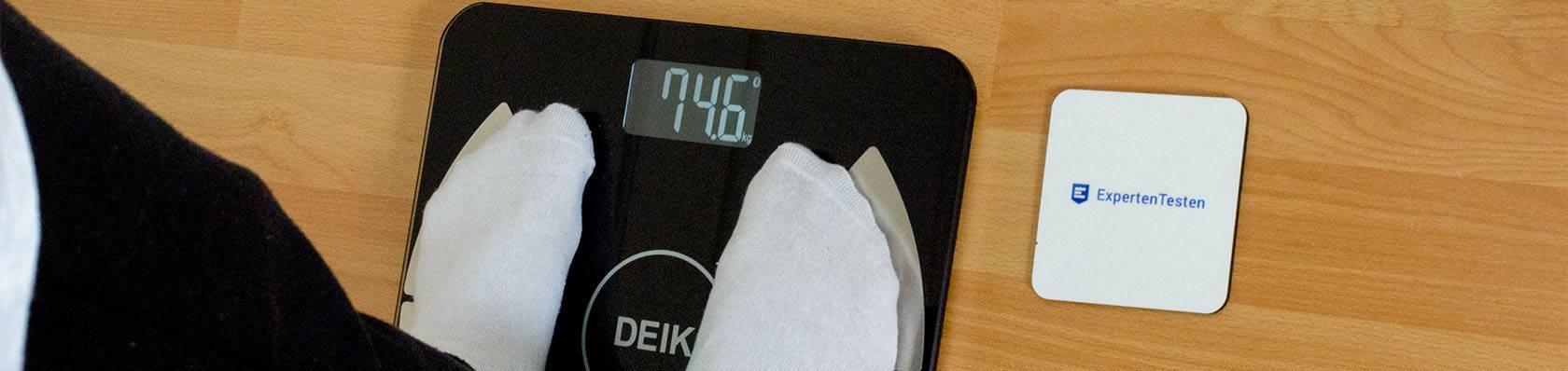 Körperfettwaagen im Test auf ExpertenTesten.de