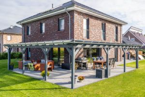 Steda Onlineshop - Terrassenüberdachungen, Carports und Gartenhäusern online kaufen