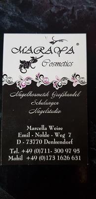 Das Interview mit Marcella Weise vom Nagelkosmetik Studio Maraya Cosmetics