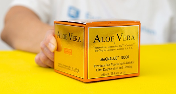 Canarias Cosmetics Magnaloe 10000 Antifaltencreme im Test - merkliche Faltenverringerung