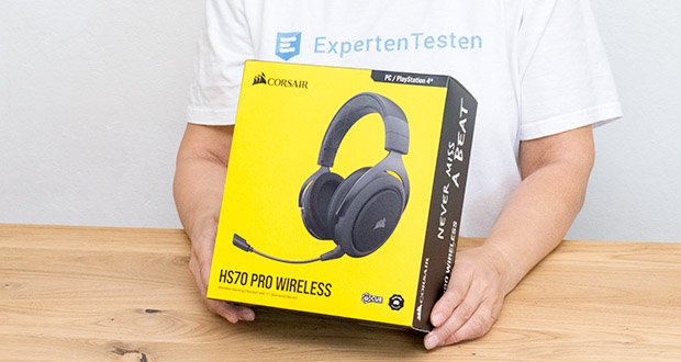 Corsair HS70 Pro Wireless Gaming Headset im Test - intensiver 7.1-Surround-Sound