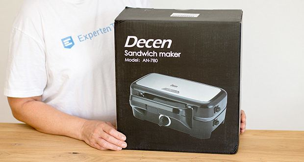 Decen Sandwichmaker im Test - 2 Jahre Garantie
