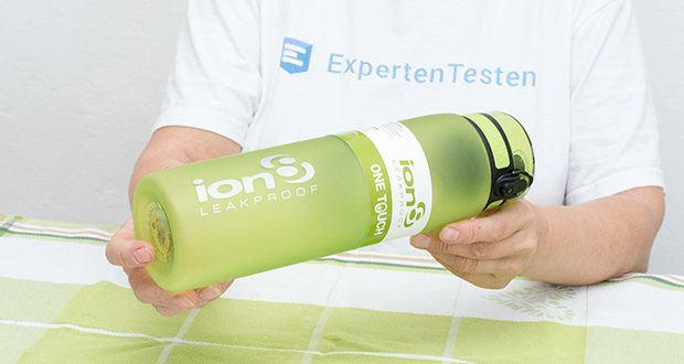 Ion8 Sportflasche im Test - geeignet für heiße und kalte Getränke von -10°C bis 96°C