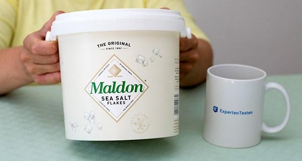 Maldon Sea Salt Flakes Meersalzkristalle im Test - Ursprungsland: Großbritannien