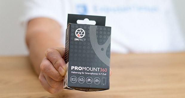 Pro Mount 360 Fahrrad Handyhalterung im Test - die sicherste Lösung für alle Offroad Freaks und Geschwindigkeits Junkies