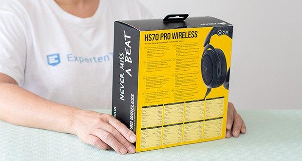 Corsair HS70 Pro Wireless Gaming Headset im Test - herausragende Klangqualität
