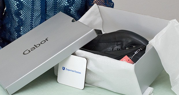 Gabor Damen Comfort Basic Stiefeletten im Test - modische Schnür-Stiefelette in bequemer Weite G