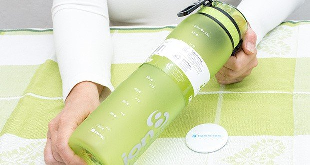 Ion8 Sportflasche im Test - 100% auslaufsichere BPA-freie Trinkflasche