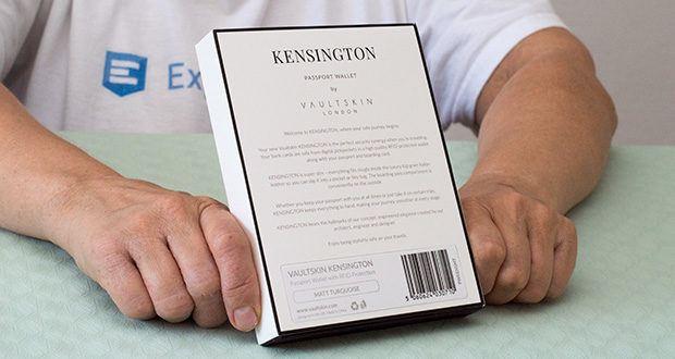 Vaultskin Kensington Reisepasshülle im Test - zuverlässiger RFID-Schutz