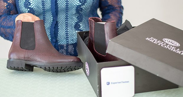 Fred de la Bretoniere Damen Stephanie Chelsea Boots im Test - Schaftweite: Normal