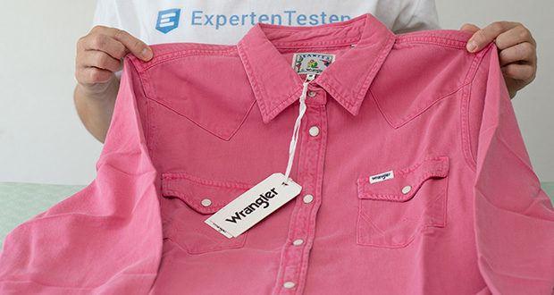 Wrangler Damen JEANIES Hemd im Test - strapazierfähig