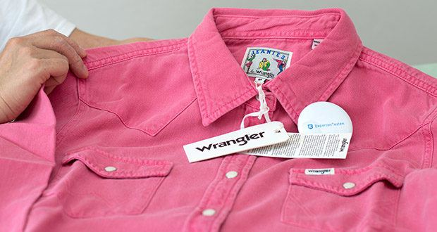 Wrangler Damen JEANIES Hemd im Test - Material: 100% Baumwolle