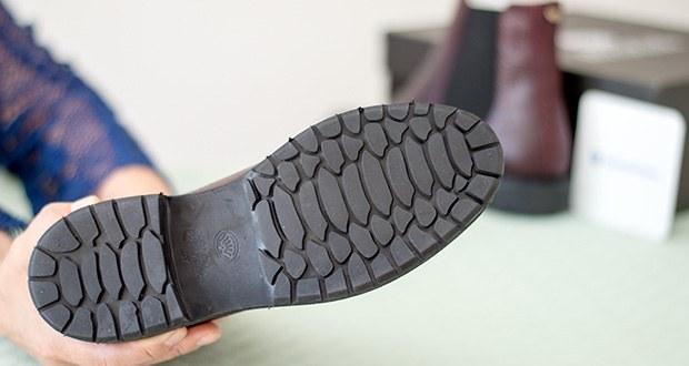 Fred de la Bretoniere Damen Stephanie Chelsea Boots im Test - Sohle: Leder