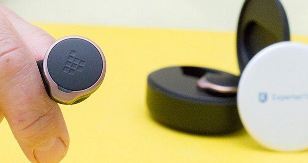 Tronsmart Apollo Bold Bluetooth Kopfhörer im Test - sehr leicht (3,5 g für einen einzelnen Kopfhörer)