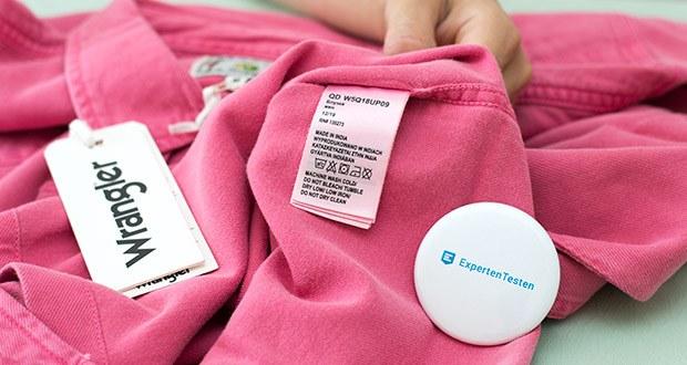 Wrangler Damen JEANIES Hemd im Test - waschen Sie nur, wenn es notwendig ist und mit geringer Temperatur