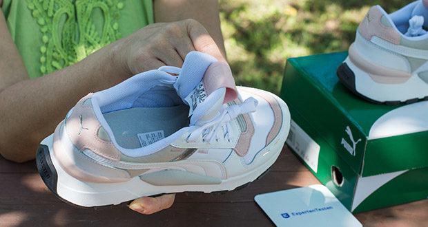 PUMA RS 2.0 Futura Sneaker im Test - Verschluss: Schnürsenkel