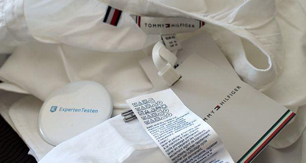 Tommy Hilfiger Damen Lacie Blouse LS im Test - Pflegehinweis: Nur Handwäsche