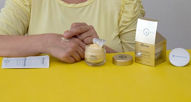 HELIOTROP Naturkosmetik Multiactive Nachtcreme im Test - versorgt die Haut mit Feuchtigkeit, intensiver Wirkstoffkomplex, verbessert den Feuchtigkeitsstatus der Haut, stimuliert die Collagensynthese