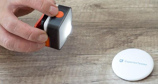 Chilitec LED-Stirnlampe Headlight CTX5 im Test - 1 Primär-LED mit gebündeltem Strahl und ca. 60m Leuchtweite