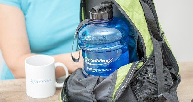 fIronMaxx Trinkflasche im Test - für einen sicheren Transport