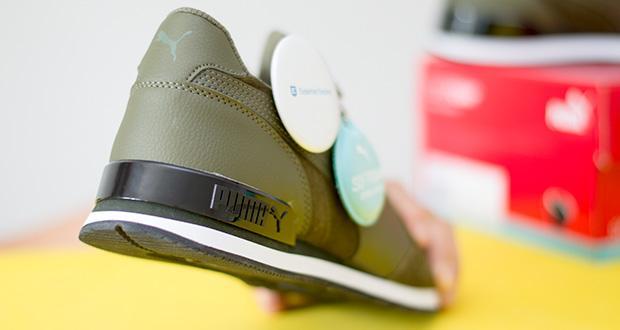 PUMA ST Runner V2 SD Sneaker im Test - der Fersenclip sieht nicht nur toll aus, sondern bietet auch optimale Stabilität
