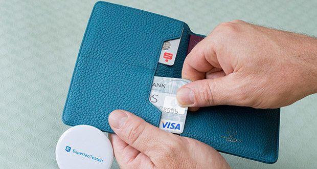 Vaultskin Kensington Reisepasshülle im Test - 2 weitere Fächer in der Brieftasche für 4 + Karten gegenüber Ihrem Reisepass