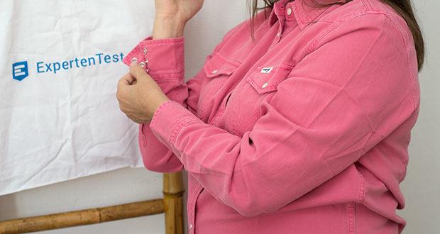 Wrangler Damen JEANIES Hemd im Test - mit dem klassischen Look in Bubblegum-Pink