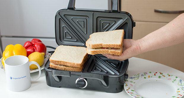 Decen Sandwichmaker im Test - sicher & Einfach zu bedienen