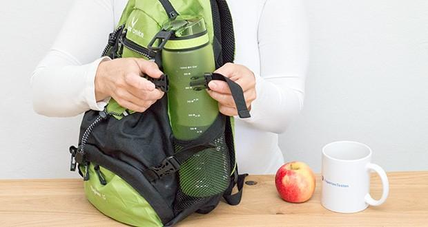 Ion8 Sportflasche im Test - leicht zu tragen