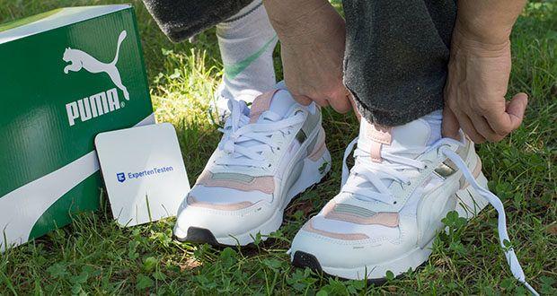 PUMA RS 2.0 Futura Sneaker im Test - die Polyurethan-Zwischensohle von PUMA für ein reibungsloses Abrollen