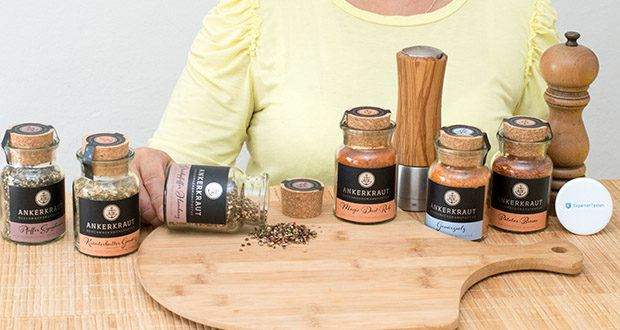 Ankerkraut Grill Set im Test - ohne Konservierungsstoffe, Geschmacksverstärker und Rieselhilfen