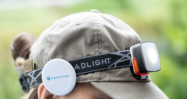 Chilitec LED-Stirnlampe Headlight CTX5 im Test - 3Watt CREE LED + zusätzlichen 4 SMD LEDs