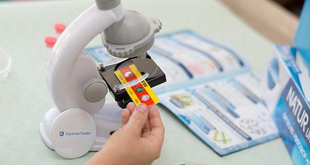 Clementoni Galileo Science Natur unter dem Mikroskop im Test - mit dem Mikroskop und den verschiedenen Materialien, die dem Bausatz beiliegen, sind Kinder in der Lage, in einem sicheren Umfeld zuhause Experimente und Untersuchungen durchzuführen