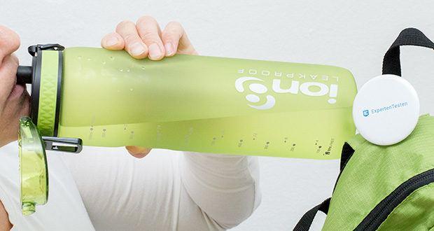 Ion8 Sportflasche im Test - eine großartige Wasserflasche für Outdoor und Radfahren