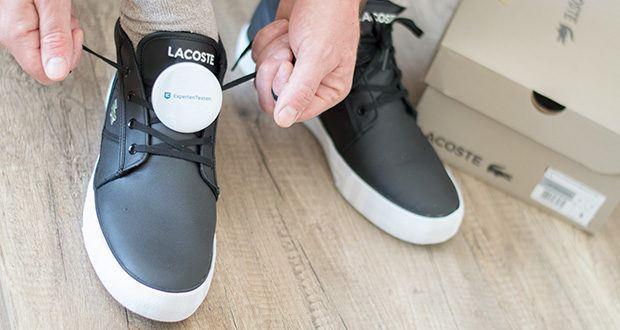 Lacoste Herren-Chukka Boots Gripshot im Test - Obermaterial: Glattleder, Innenmaterial: Synthetik, Sohle: Gummi