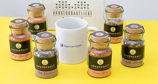 Ankerkraut Grill Set im Test - das perfekte Geschenk für den Profi-Griller: Papa, Mann, Opa und Onkel
