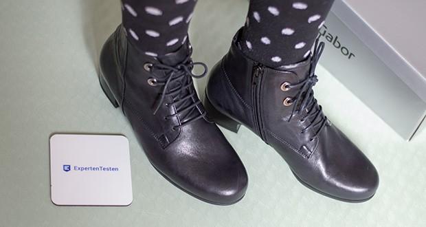 Gabor Damen Comfort Basic Stiefeletten im Test - einmal Schnüren und eine optimale Passform ist gewährleistet
