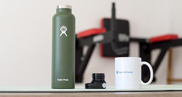 Hydro Flask Trinkflasche im Test - auf dem Weg zum Fitnessstudio oder auf einem kurzen Ausflug quer durch die Stadt – du kannst deine Erfrischung problemlos mitnehmen