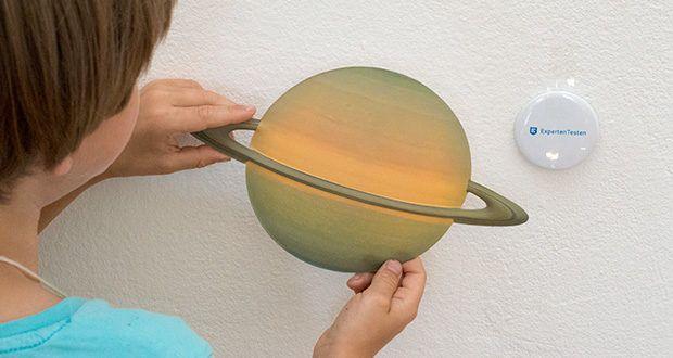 KOSMOS Nachtleuchtende Planeten im Test - enthält alle acht Planeten unseres Sonnensystems fürs Kinderzimmer und überrascht mit einem tollen Effekt