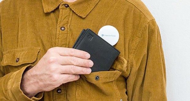 KRONIFY Herren Geldbörse im Test - das zeitlose Design macht diese Brieftasche zum idealen Begleiter für Freizeit und Business