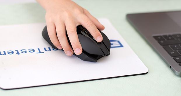 Logitech G903 LIGHTSPEED kabellose Gaming-Maus im Test - für Rechts- und Linkshänder geeignetes Design