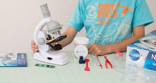 Clementoni Galileo Science Natur unter dem Mikroskop im Test - vom Hersteller empfohlenes Alter: 9 - 12 Jahre