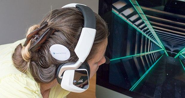 Corsair Void Elite RGB Gaming Headset im Test - Mikrofonfrequenzgang: 100Hz bis 10kHz; Mikrofonempfindlichkeit: -42 dB (+/- 3 dB)