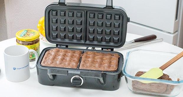 Decen Sandwichmaker im Test - ist ideal für Reisen, Büro und Schule