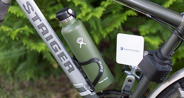 Hydro Flask Trinkflasche im Test - mit diesem tragbaren, durstlöschenden Reisebegleiter ist ausreichend Trinken ein Kinderspiel