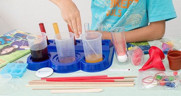 KOSMOS Schülerlabor Experimentierkasten im Test - ein toller Start in die Schulzeit